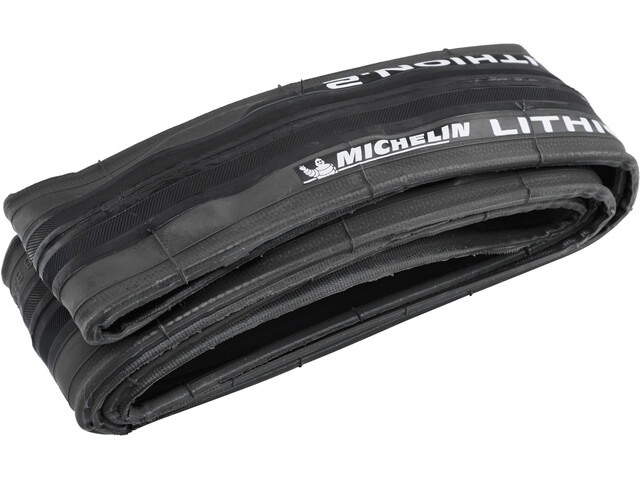 "Michelin Lithion2 Tyre 28"" folding deep grey"